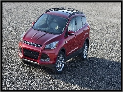bordowy, Ford Escape